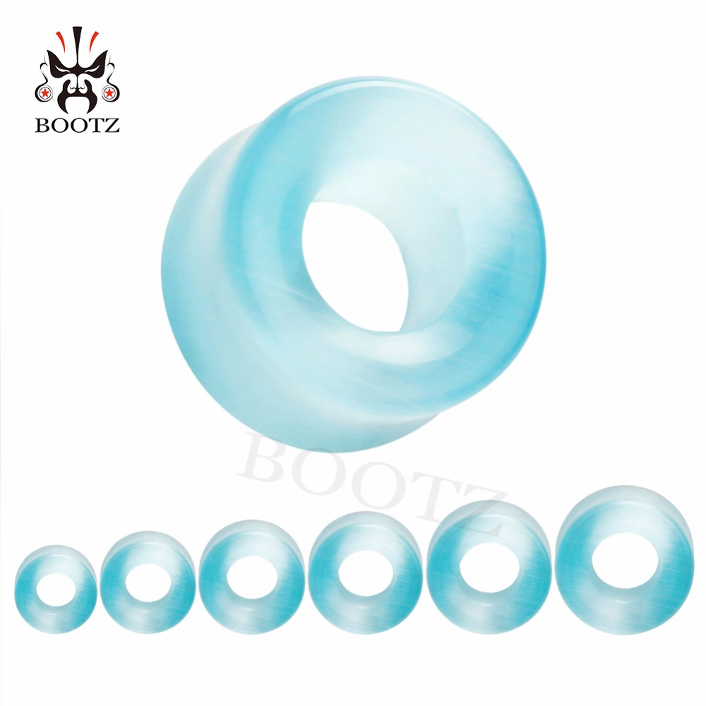 [해외]아름 다운 저렴 한 돌 귀 터널 피어 싱 플러그 쥬얼리 귀 gaugesmany 색상/beautiful cheap stone ear tunnels piercing plugs body jewelry ear gaugesmany colors for choosing wh
