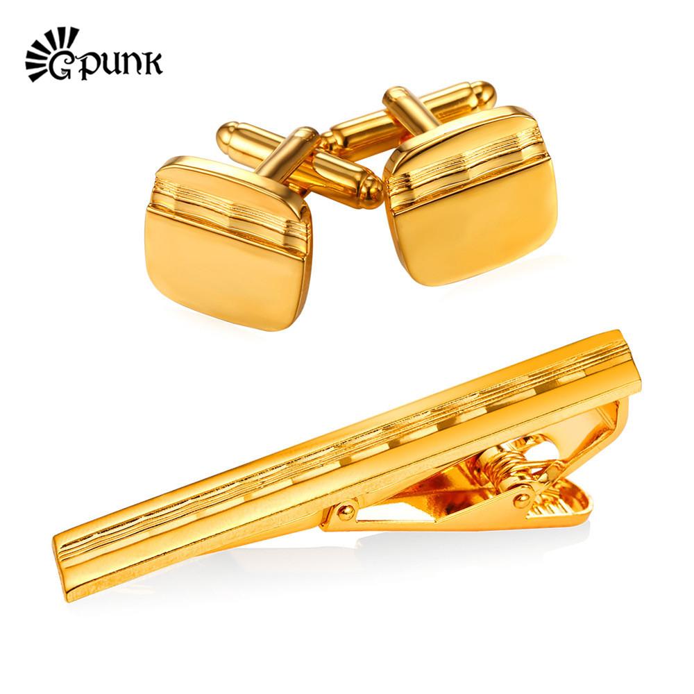 [해외]남성용 발렌타인 데이 선물 빈티지 커프스 링크 및 타이 클립 세트 남성용 액세서리 Retro 커프스 단추 세트 타이 바 CTC2287G/valentine&s day gift for men Vintage Cuff Links and Tie Clip Set Men&s