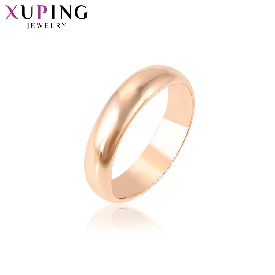 [해외]11.11 거래 Xuping 패션 우아한 반지 로즈 골드 컬러 도금 절묘한 반지 여성 결혼 쥬얼리 크리스마스 선물 S33-11000/11.11 Deals Xuping Fashion Elegant Rings Rose Gold Color Plated Exquisit