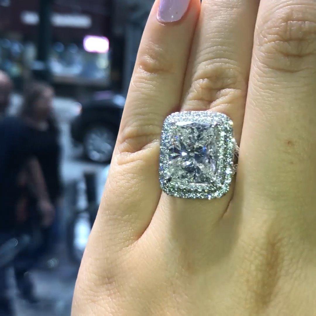 [해외]Big Bling Zircon Stone Rings for Women Engagement Wedding 925 Sterling Silver Rings 2019 New/Big Bling Zircon Stone Rings for Women Engagement Wed