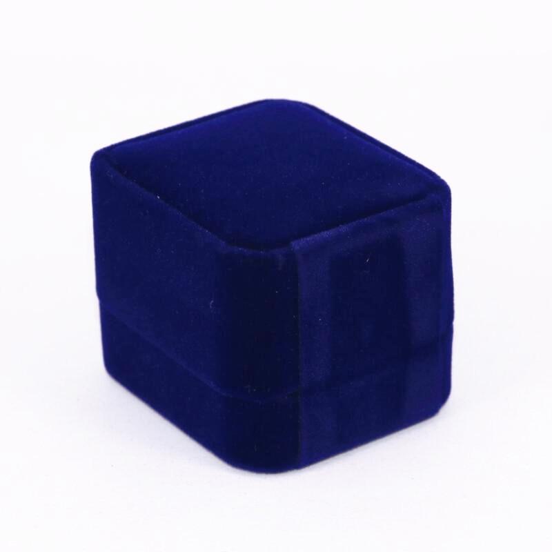 [해외]USA Size 8 To 15 Factory Price 2018 FAN Red And Blue Stones Ring Engraving Inside Display Boxes ping/USA Size 8 To 15 Factory Price 2018 FAN Red A