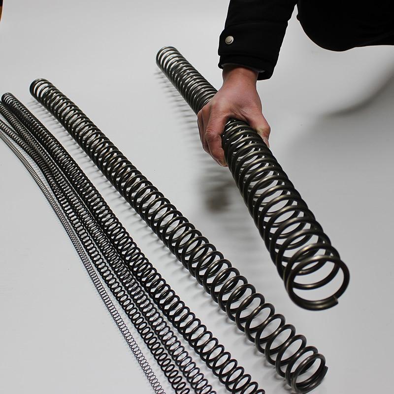 [해외]1m long heavy duty Wire diameter 4.5mm to 6mm outer diameter 40mm to 60mm stainless steel compression springs/1m long heavy duty Wire di