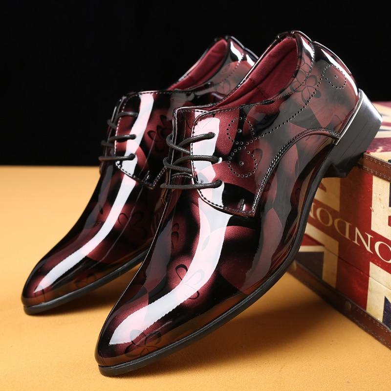[해외]남성을위한 새로운 패션 옥스포드 신발 낮은 신발 드레스 신발 남성 공식적인 신발 지적 발가락 비즈니스 웨딩 플러스 크기 49 50/남성을위한 새로운 패션 옥스포드 신발 낮은 신발 드레스 신발 남성 공식적인 신발 지적 발가락 비즈니스 웨딩 플러스