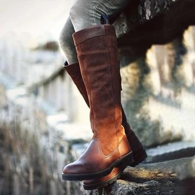 [해외]Litthing 2019 가을 여성 롱 부츠 캐주얼 로마 스타일 부츠 가을 겨울 허벅지 높은 루스 신발 botas mujer footwear/Litthing 2019 가을 여성 롱 부츠 캐주얼 로마 스타일 부츠 가을 겨울 허벅지 높은 루스 신발