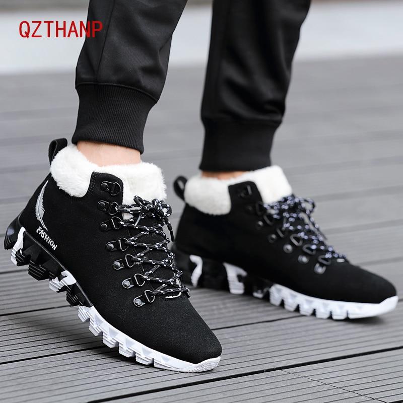 [해외]Winter Boots Men Warm Casual Shoes Breathable Male Tenis Adult Krasovki Plus Velvet Shoe Popular Scarpe Zapatos Hombre Sapatos/Winter Boots Men Wa