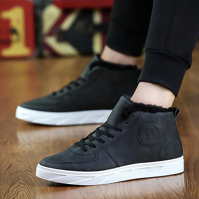 [해외]IPCCM Autumn New Men`s Thick Martin Boots Korean Version Of Warm And Plus Cotton Low Boots Size 39-44/IPCCM Autumn New Men`s Thick Martin Boots Ko