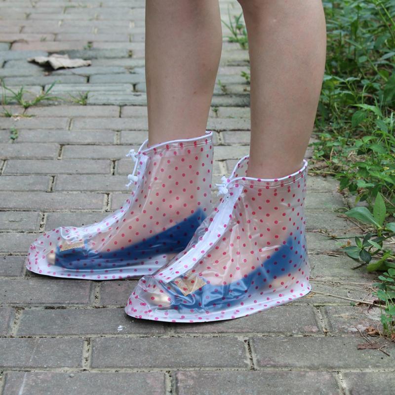 [해외]New Waterproof Rain Reusable Shoes Covers, All Seasons Slip-resistant Rain Boot Overshoes Men Women`s Shoes Accessories/New Waterproof Rain Reusab
