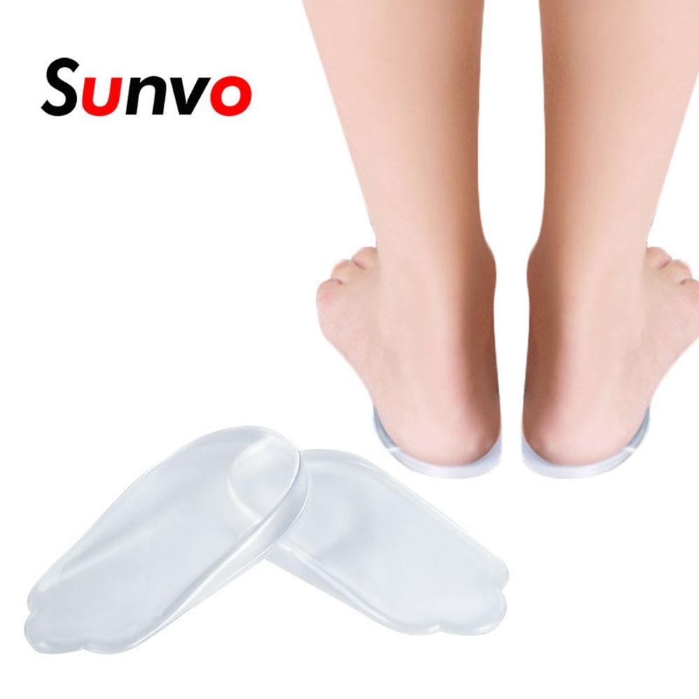 [해외]Sunvo Gel O/X Type Leg Orthotics Heel Pads Corrective Valgus Varus Foot Massage Orthopedic Insoles Flatfoot Support Insert Pads/Sunvo Gel O/X Type