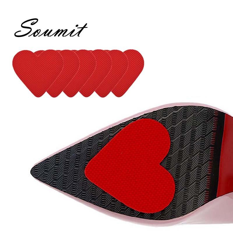 [해외]Soumit 3 pairs Fashion Insoles for Shoes Non-slip for High Heel Shoes Grip Shoe Sole Accessories Self-adhesive Shoe Care Kit/Soumit 3 pairs Fashio