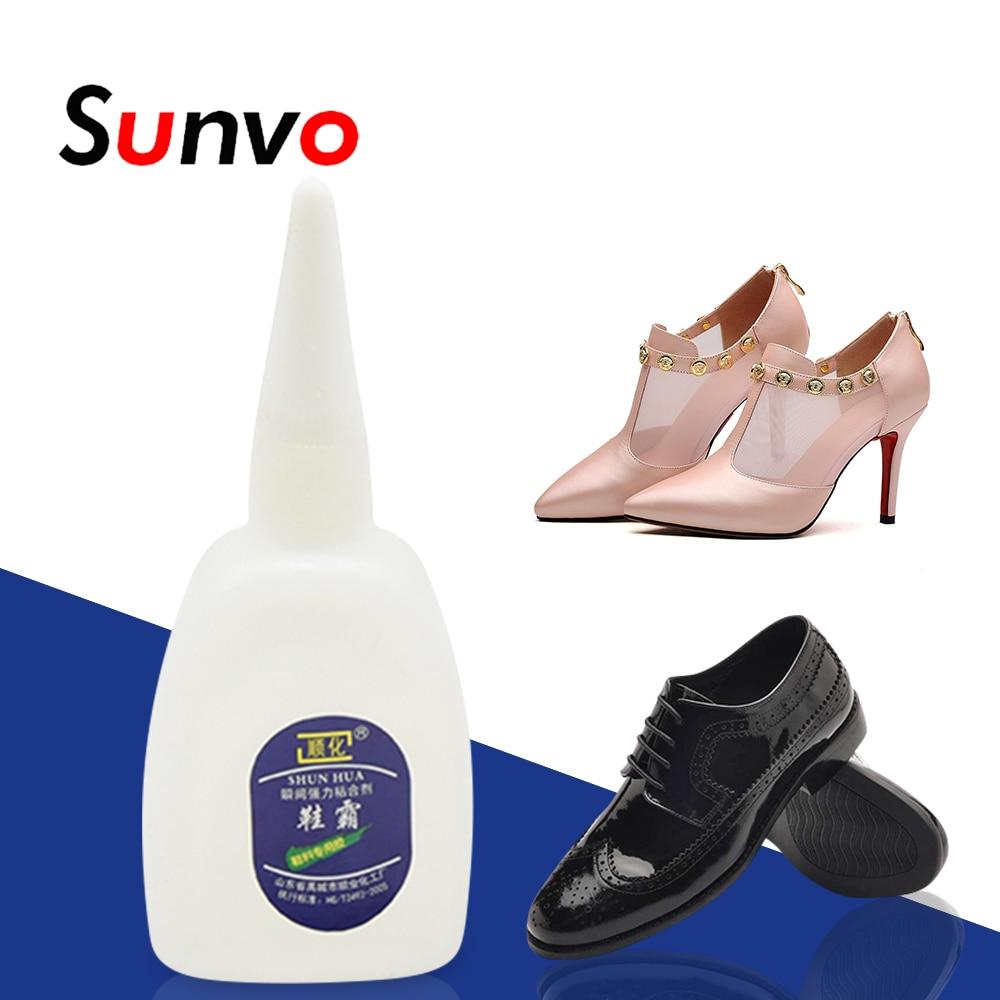 [해외]Sunvo Shoe Waterproof Glue Strong Super Glue Liquid   Special Adhesive for Shoes Repair Universal Shoes Adhesive Care  Tool/Sunvo Shoe Waterproof