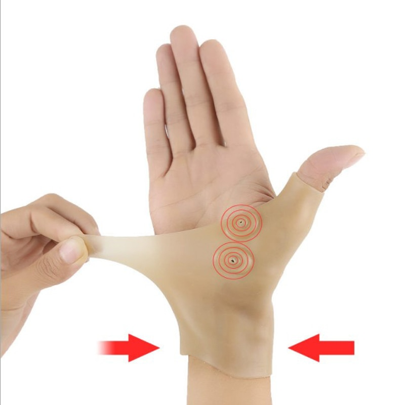 [해외]NEW  1 Pc  Magnetic  Therapy Thumb  Splint  Wrist and Thumb Support Brace Sleeves GlovesSports protection protective gear/NEW  1 Pc  Mag