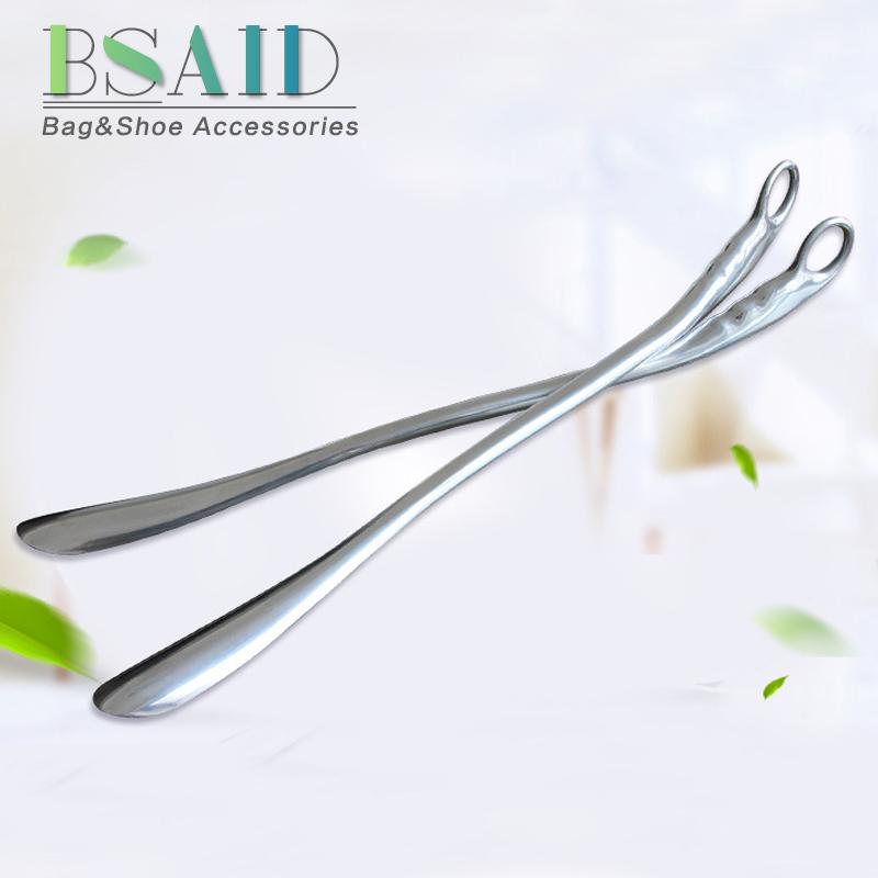 [해외]BSAID Hanging Shoe Horn 52cm Length Stainless Steel Shoe Horns For Convenient Wearing Shoes Horn And Spoon For Leather High Heel/BSAID Hanging Sho