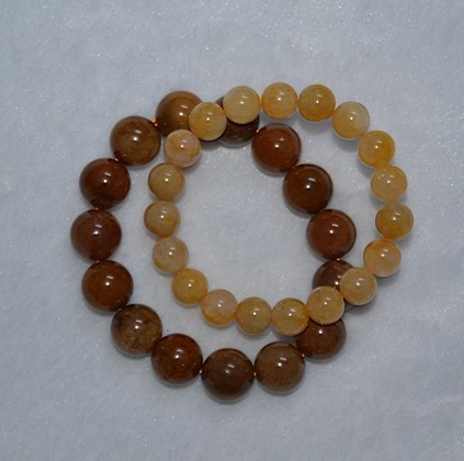 천연 토파즈 jaster 구슬 팔찌 남성 여성, 부자와 영광 결정/Natural topaz jaster bead bracelet male Women , rich and honored crystal